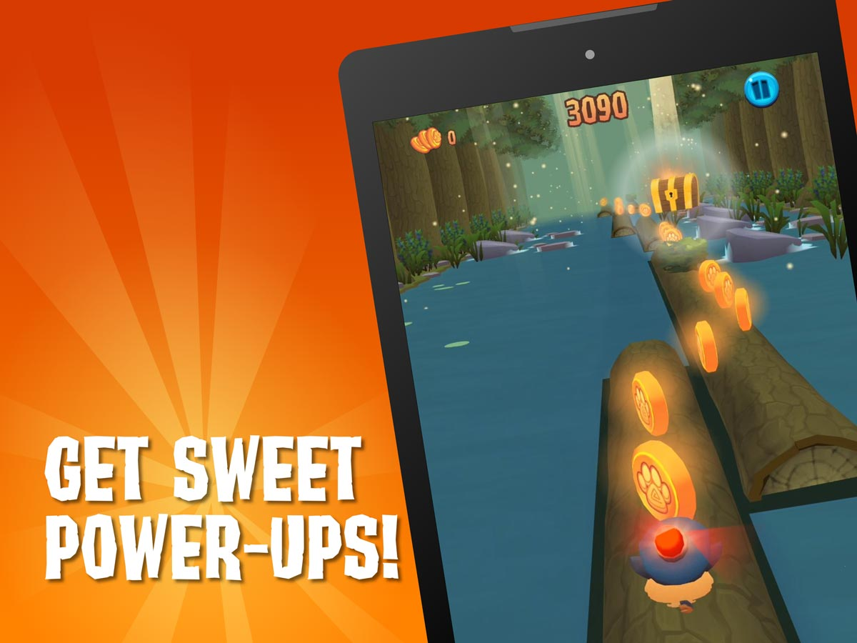 screenshot sweet power-ups